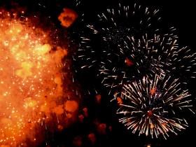 【岩手の花火】一関夏まつり磐井川川開き花火大会2015